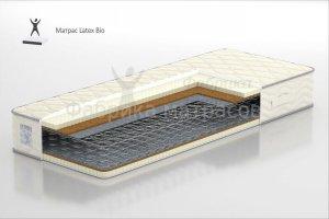 Матрас На зависимом пружинном блоке Latex BIO - Мебельная фабрика «Аккорд»