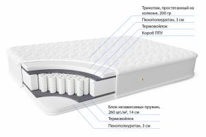 Матрас НПБ с ППУ Веста 260 - Мебельная фабрика «Фабрика Сна»