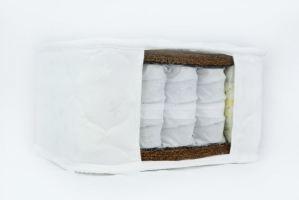 Матрас пружинный Сириус 3 с двойным кокосом - Мебельная фабрика «ТРЕСТФОМ»