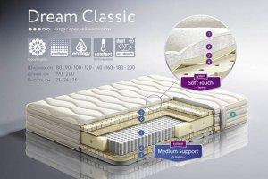 матрас средней степени жесткости Dream Classic - Мебельная фабрика «Dream land»