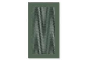 Мебельный фасад для кухни фрезеровка премиум Волна - Оптовый поставщик комплектующих «Союз-Фасад»
