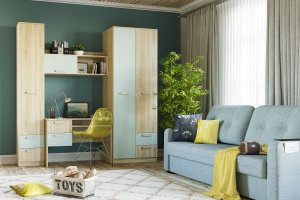 Мебель в детскую Акварель - Мебельная фабрика «Сильва»