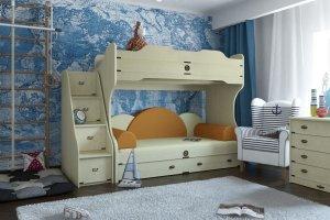 Мебель детская Корвет - Мебельная фабрика «Крафт»