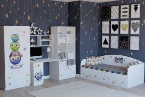 Мебель детская Совята - Мебельная фабрика «Династия»