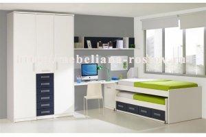 Мебель для детской 010 - Мебельная фабрика «МЕБЕЛИАНА»