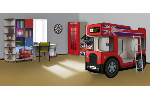 Мебель для детской Англия - Мебельная фабрика «КАРоБАС»