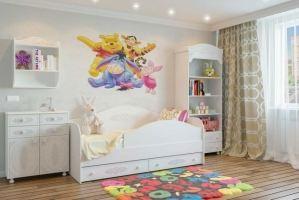 Мебель для детской Ассоль 7 - Мебельная фабрика «Мезонин мебель»