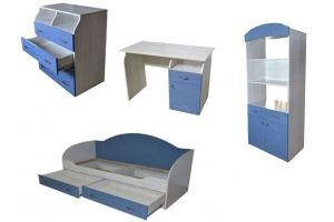 Мебель для детской Атлантида-2 Парус - Мебельная фабрика «Евромебель»