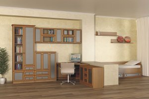 Мебель для детской Барселона 29 - Мебельная фабрика «Визит»