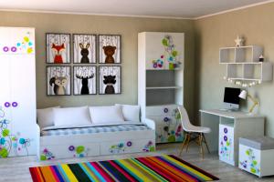 Мебель для детской Цветы - Мебельная фабрика «Династия»