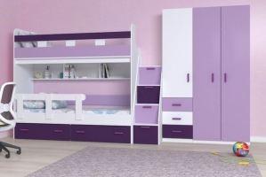 Мебель для детской Ирис Аметист 2 - Мебельная фабрика «БонусМебель»