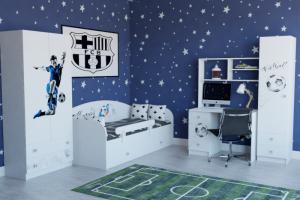 Мебель для детской комнаты Футбол - Мебельная фабрика «Династия»
