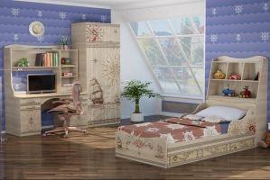 Мебель для детской комнаты Квест 2 - Мебельная фабрика «Ижмебель»