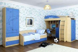 Мебель для детской комнаты Морячок - Мебельная фабрика «СМ-Мебель»