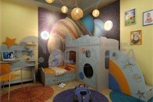 Мебель для детской комнаты Сатурн - Мебельная фабрика «Астарта»