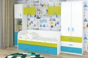 Мебель для детской Лайм Топаз - Мебельная фабрика «БонусМебель»