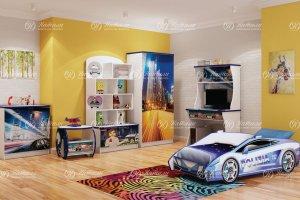 Мебель для детской Полиция - Мебельная фабрика «Натали»