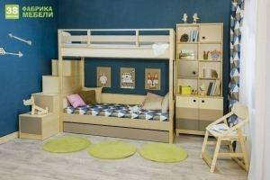 Мебель для детской Робин WOOD - Мебельная фабрика «38 попугаев»