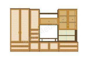 Мебель для гостиной Ирэн - Мебельная фабрика «Алтай-Командор»