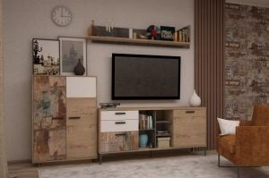Мебель для гостиной Малибу - Мебельная фабрика «МФМ (Магнитогорская мебельная фабрика)»