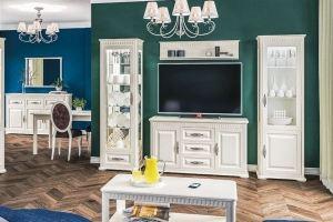 Мебель для гостиной Марсель Крем - Мебельная фабрика «Мебель-Неман»