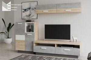 Мебель для гостиной Метро Люксор - Мебельная фабрика «МФМ (Магнитогорская мебельная фабрика)»