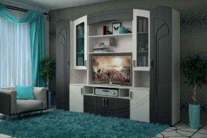 Мебель для гостиной Павлина - Мебельная фабрика «Первомайское»