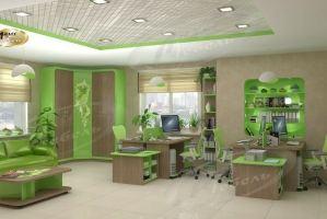 Мебель для кабинета Цвет ветра - Мебельная фабрика «Ладос-мебель»