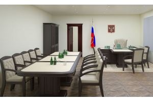 Мебель для кабинета руководителя Мономах 1 - Мебельная фабрика «Грин Лайн Мебель»