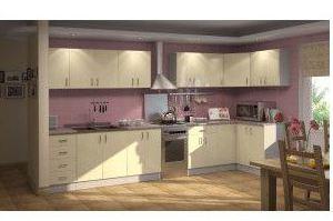Мебель для кухни МДФ EVA GOLD - Мебельная фабрика «Грандфаянс»