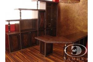Мебель для офиса массив - Мебельная фабрика «Элмика»