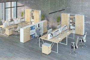 Мебель для офиса ProX 2 - Мебельная фабрика «СОФТФОРМ»