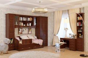 Мебель для подростков реечный фасад - Мебельная фабрика «Ясень»