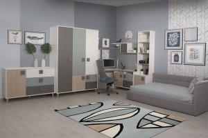 Мебель для подростковой комнаты Димика - Мебельная фабрика «Мирлачева»