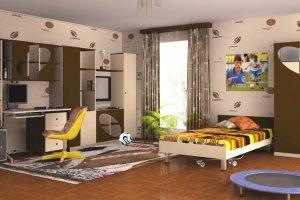 Мебель для подростковой комнаты Форвард - Мебельная фабрика «Мебель от Михаила»