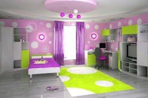 Мебель для подростковой комнаты Фреш - Мебельная фабрика «Мебель от Михаила»