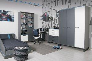 Мебель для подростковой комнаты Карбон - Мебельная фабрика «Мирлачева»