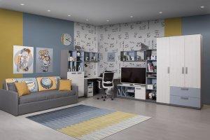 Мебель для подростковой комнаты Румика - Мебельная фабрика «Мирлачева»
