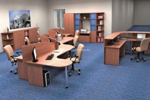 Мебель офисная для персонала Эрго/Ergo - Мебельная фабрика «ИНКОМ»