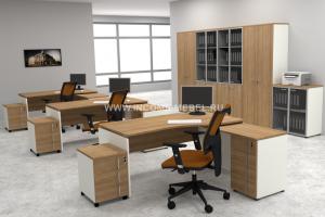 Мебель офисная для персонала Октава - Мебельная фабрика «ИНКОМ»