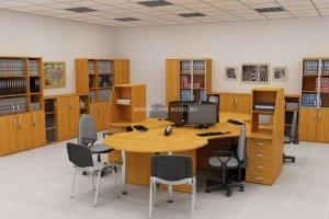Мебель офисная для персонала Софтлайн/Softline - Мебельная фабрика «ИНКОМ»