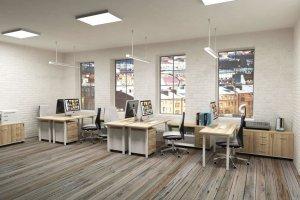 Мебель офисная для персонала Уника/Unica - Мебельная фабрика «ИНКОМ»