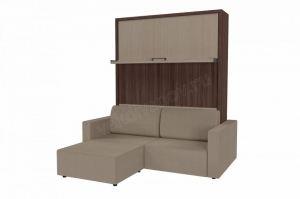 Мебель трансформер диван-кровать с пуфом Смарт 1 - Мебельная фабрика «Новый век»