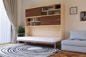 Мебель-трансформер Смарт 3 полка-кровать - Мебельная фабрика «Новый век»