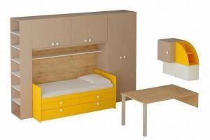 Мебель в детскую комнату Bonito 4 - Мебельная фабрика «ОГОГО Обстановочка!»