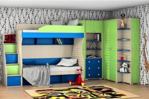Мебель в детскую Лего Джуниор - Мебельная фабрика «СОНиК»