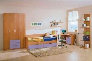Мебель в детскую Луиза - Мебельная фабрика «ЛиО»