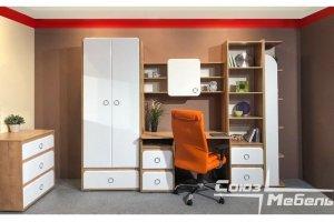 Мебель в детскую Молодежная Скай - Мебельная фабрика «Союз-мебель»