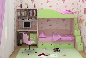 Мебель в детскую Яшма - Мебельная фабрика «ЛиО»