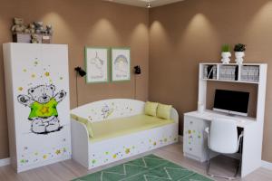 Мебель в детскую Звездный Тедди - Мебельная фабрика «Династия»
